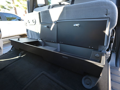 2003-2016 Ford F Series Super Duty Super Cab Locking Under Seat Storage