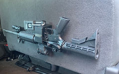 Gun Mounting Brackets for Truck Interior