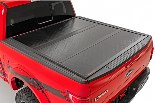 Toyota Tacoma Low Profile Hard Tri-Fold Tonneau Cover for 2016-2021 6' Bed