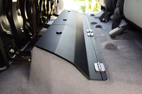 Toyota Tacoma Double Cab Steel/Aluminum Rear Under Seat Storage for 2005-2021
