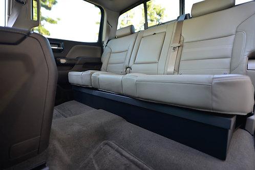 2008-2018 Chevrolet Silverado/GMC Sierra Crew Cab Locking Under Seat Storage
