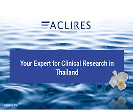 Spend your Coffeebreak with us in Bangkok and learn about clinical trials