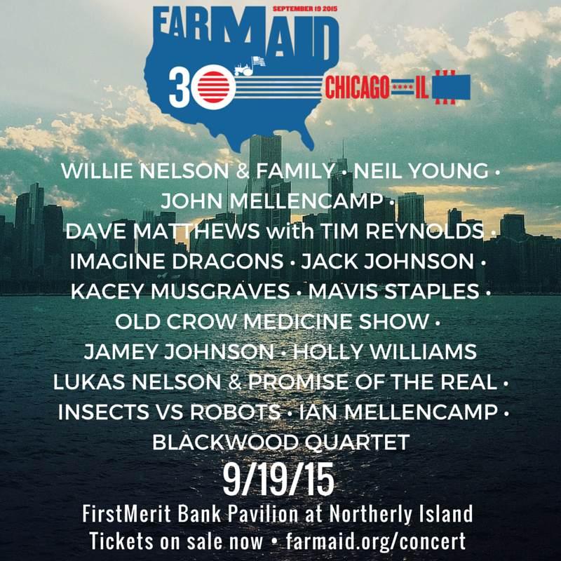 9/19/15 - Chicago, IL / Farm Aid 30