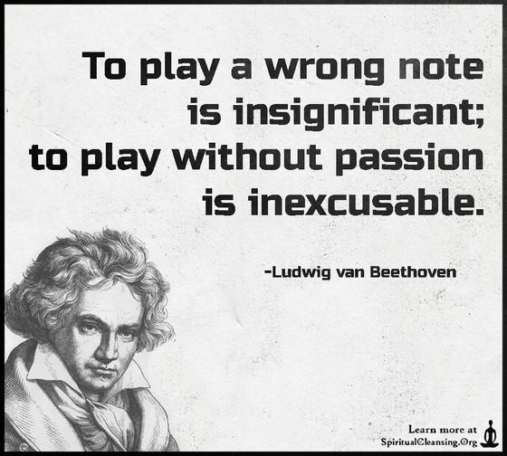 Words of Wisdom by Ludwig van Beethoven