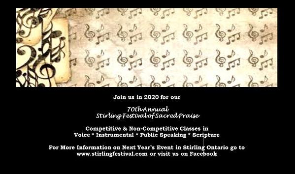 Stirling Festival of Sacred Page - Quart