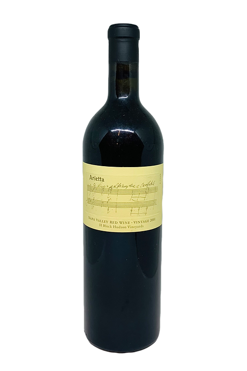 Arietta Hudson H-Block Red Wine 2001