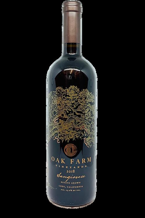 Oak Farm Sangiovese 2018
