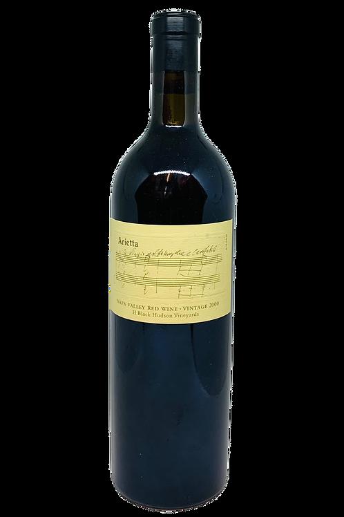Arietta Hudson H-Block Red Wine 2000
