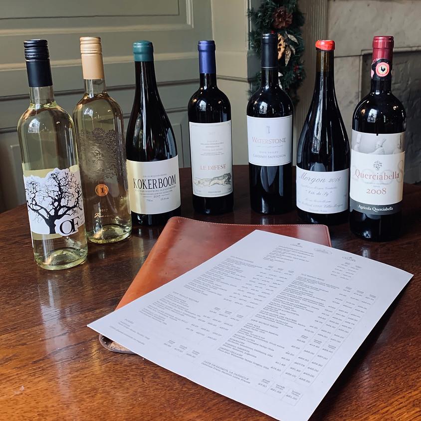 Navigating the Wine List