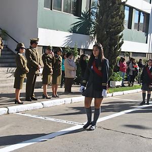 Desfile y Visita a Comisaria