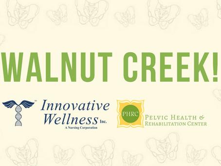 PHRC teams up with Innovative Wellness in Walnut Creek!!!!
