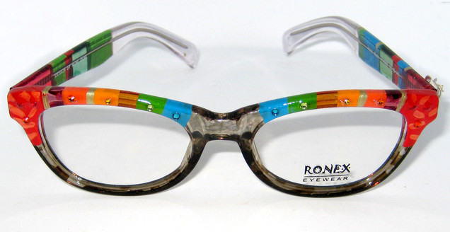 hand painted eyewear