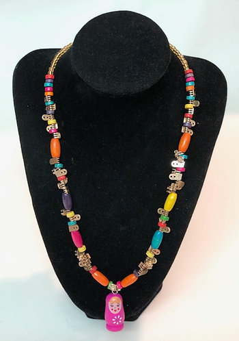 Recycled Necklace No. 7