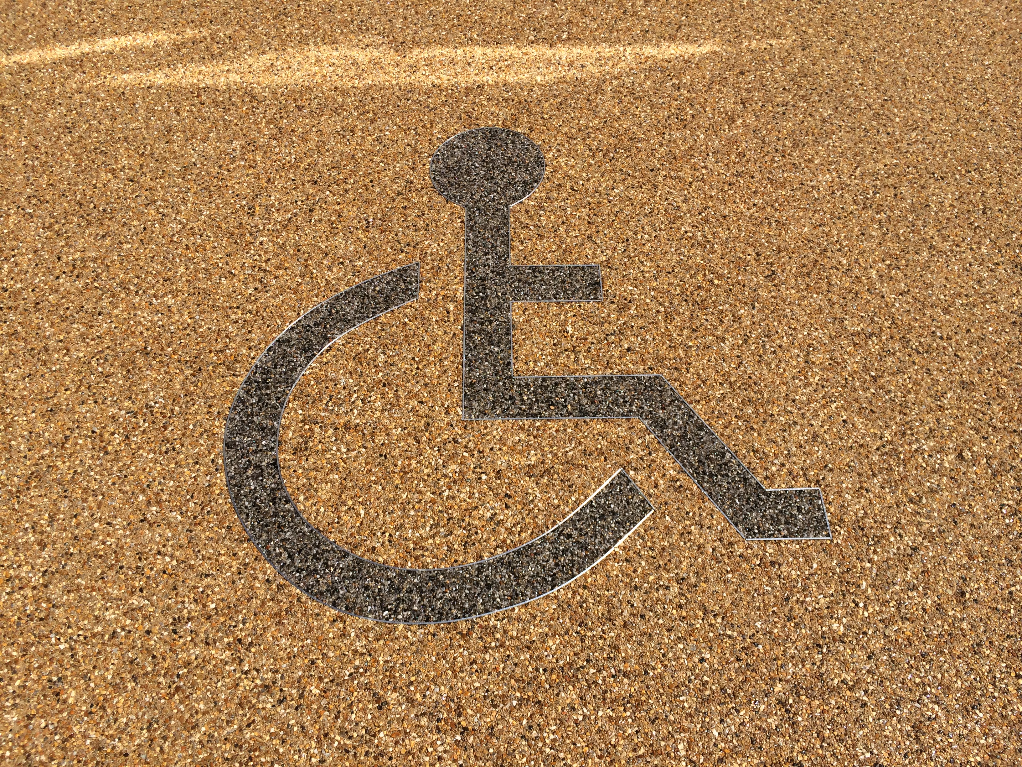 Resin Bound Disabled Logo