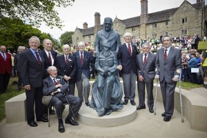Opening of the McIndoe memorial