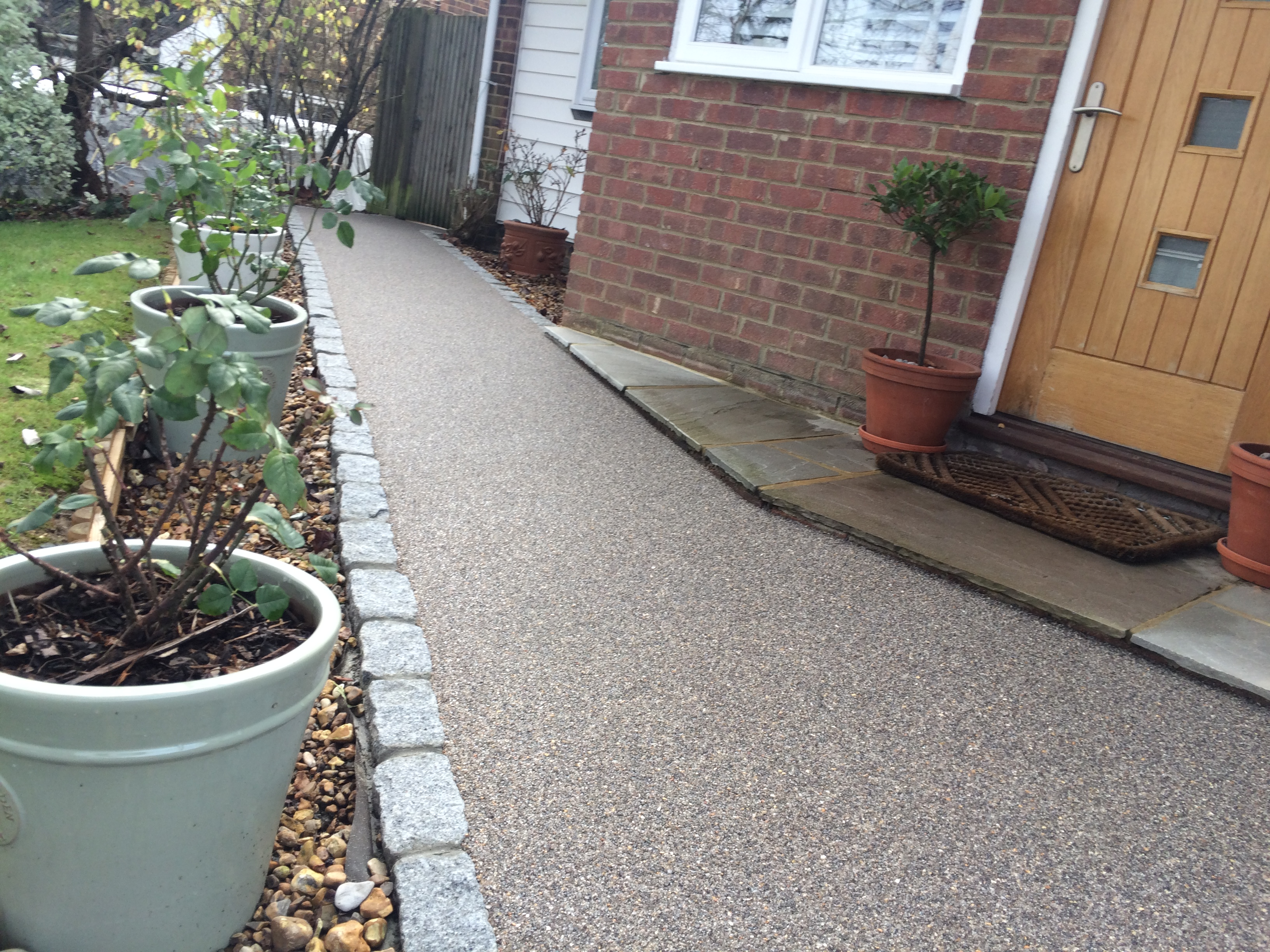 Resin Bound Footpath