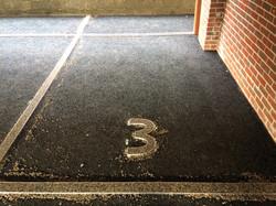 parking slot No. infill