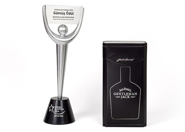 Gentleman Jack Teneke Kutu Ambalaj Ay Yıldızları Gümüş Ödül