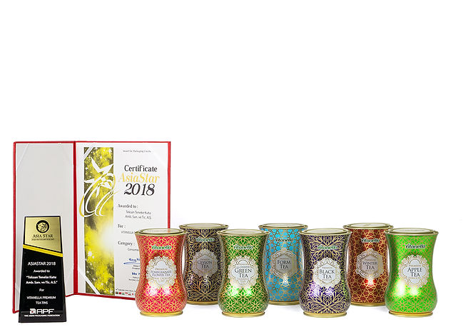 Vitanella Premium Tea Tins And Teksan's 2018 AsiaStar Packaging Award