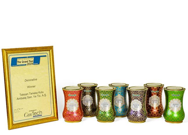 Vitanella Premium Tea Tins And Teksan's 2019 CanTech Decorative Tin Award