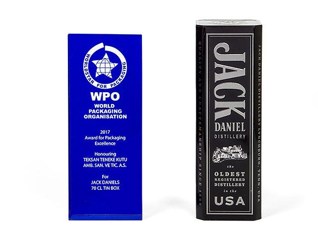Jack Daniel's Promosyon Kutusu Dünya Ambalaj Örgütü Ödülü