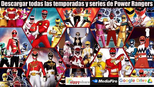 Descargar temporadas de Power Rangers en full HD series por Google Drive mediafire zippyshare portada