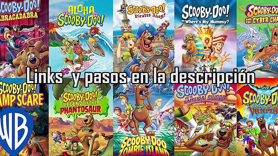 Descargar todas las peliculas de Scooby-Doo ver full HD 1080p google drive mediafire zippyshare portada