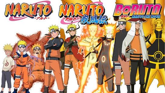 Como descargar Naruto, Naruto shippuden y Boruto en full HD Google Drive mediafire zippyshare portada