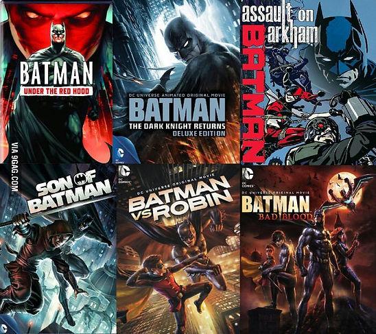 Descargar las peliculas de Batman peliculas animadas ver en full HD 1080p google drive portada