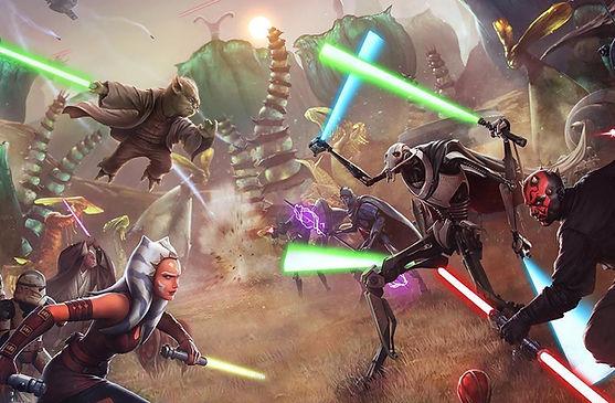 Como descargar Star Wars todos los juegos full para PC en google drive zippyshare mediafire megaup portada