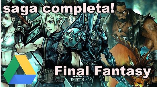 saga Final Fantasy en google drive descargar Portada