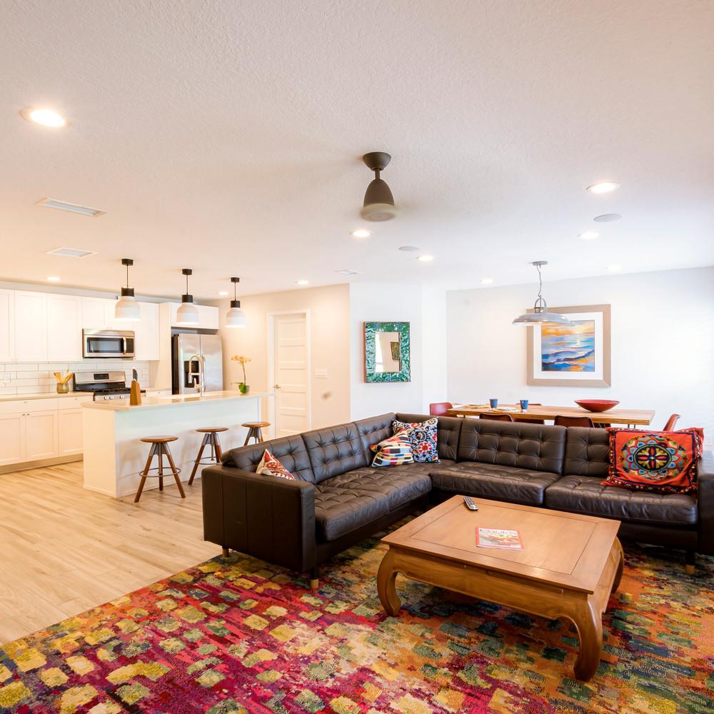 Open Floor Plan invites Conversations