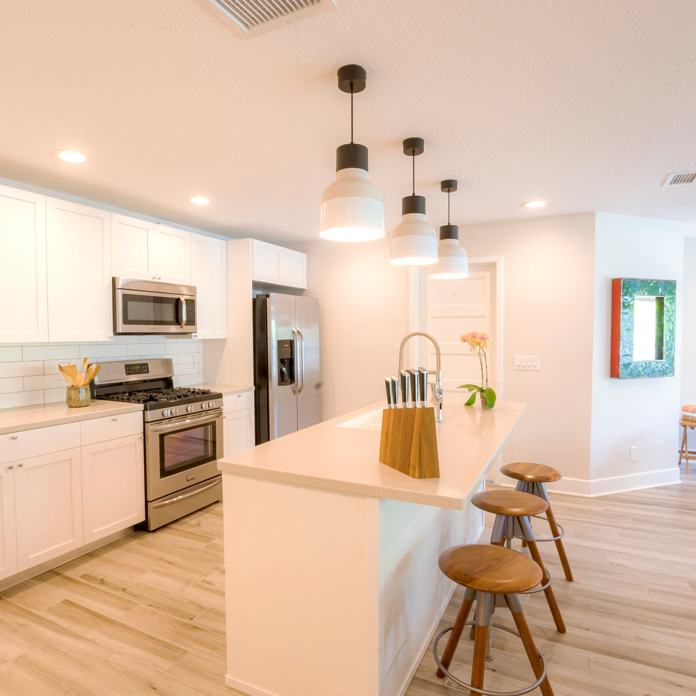 A Cook's Kitchen is Ready for a Chef or Takeout