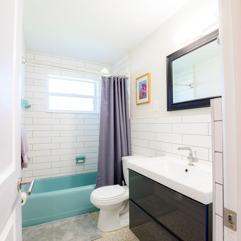 3rd Full Bath has a Tub and Shower