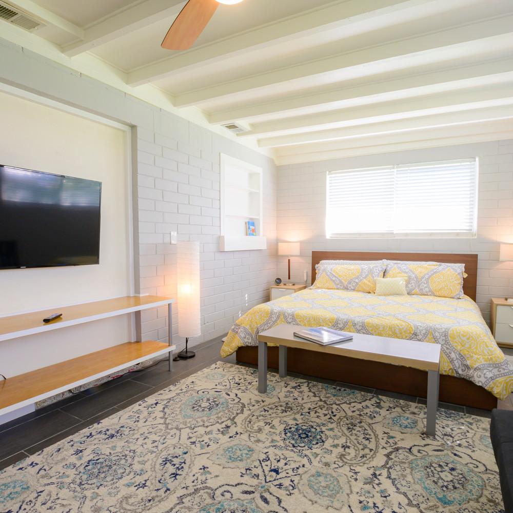 Master Bedroom has it's own Smart TV