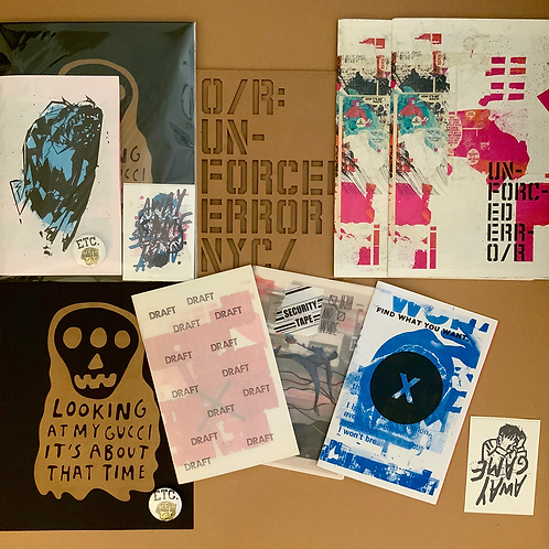 """Unforced Error"" Ephemera Bundle"