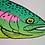 Thumbnail: Rainbow Trout Risograph Print