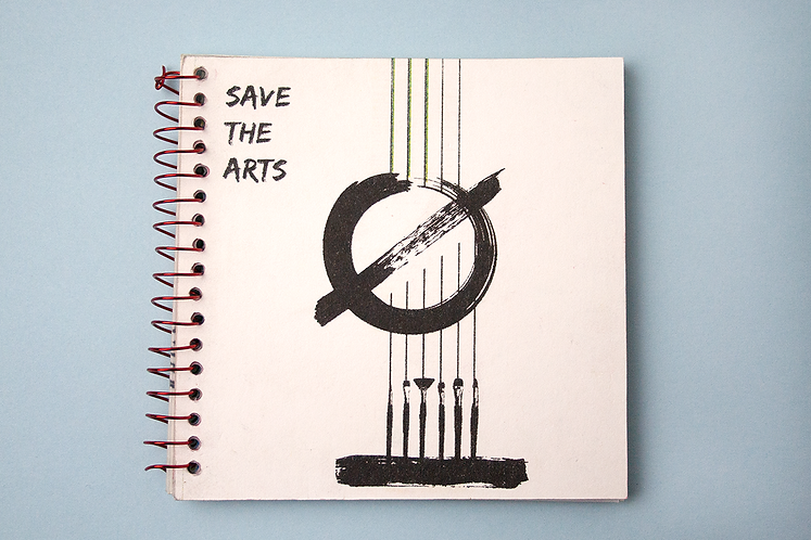 """Save The Arts"" Risograph Zine"