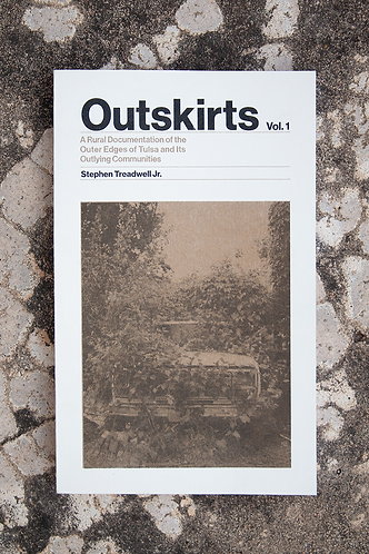 """Outskirts"" Risograph, Perfect Bound Photo Book"