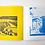 "Thumbnail: ""Passage"" Risograph, Saddle Stitched Booklet"