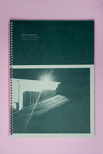 """Green Country"" Risograph Spiral Bound Book"