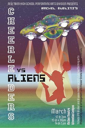 6. Cheerleaders vs. Aliens