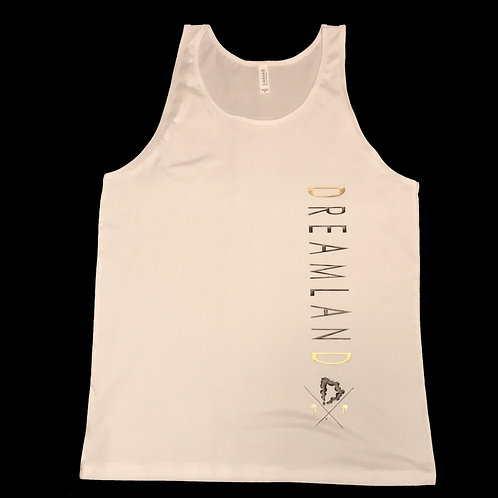 """Midas Tank"" in White & Black"