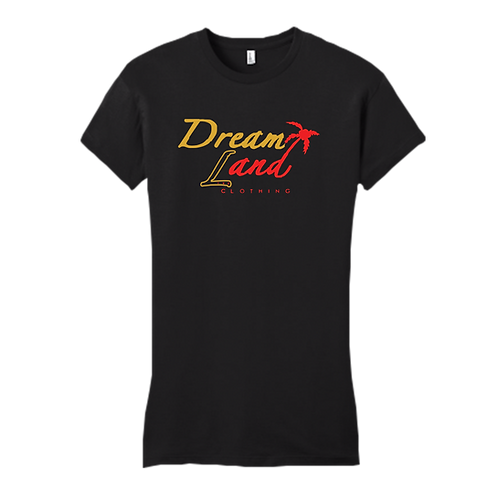 Classic DNL Tee (Black/Gold/Red)[f]