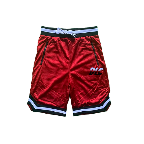 Red Male Shorts