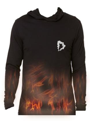 Burning Souls Pullover Ty-dye
