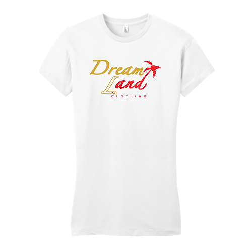Classic DNL Tee (Wht/Gold/Red)[f]
