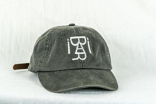 Distressed Dad Hat (Black)