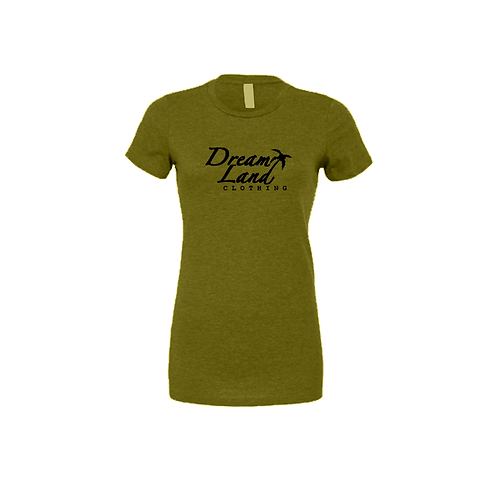 Classic Female DreamxLand T (Olive/Black)