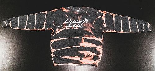Bleach Striped Charcoal